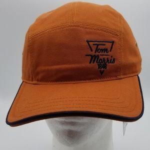 Tom Morris Orange Golf Hat, one size  New w/Tag